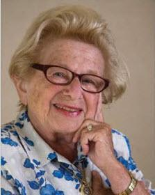 Dr. ruth hand on head