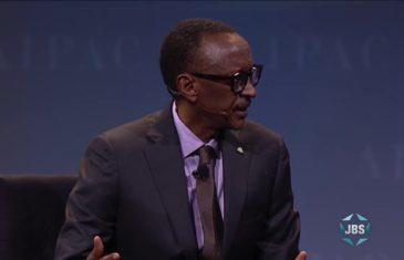 AIPAC 2017: Rwandan President Paul Kagame