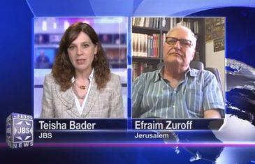 Chief Nazi-hunter of the Simon Wiesenthal Center, Efraim Zuroff