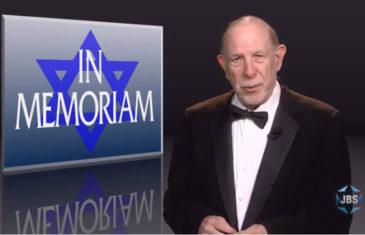 In memoriam 2018,JBSTV,jbstv.org,Jewish television