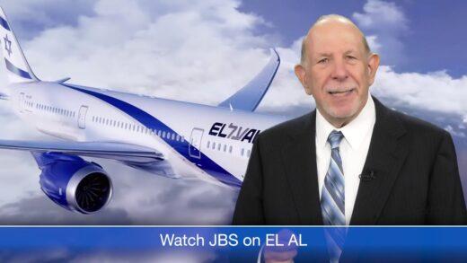 Watch JBS on EL AL Dreamliner