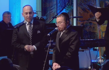 Cantors Netanel Hershtik and Yaakov Stark
