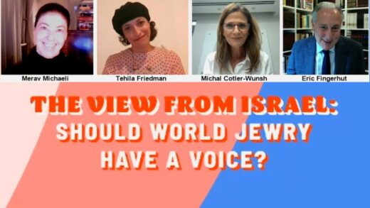 World Jewry's Voice in Israel?